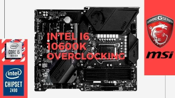 Intel i5 100600K overclocking guide banner