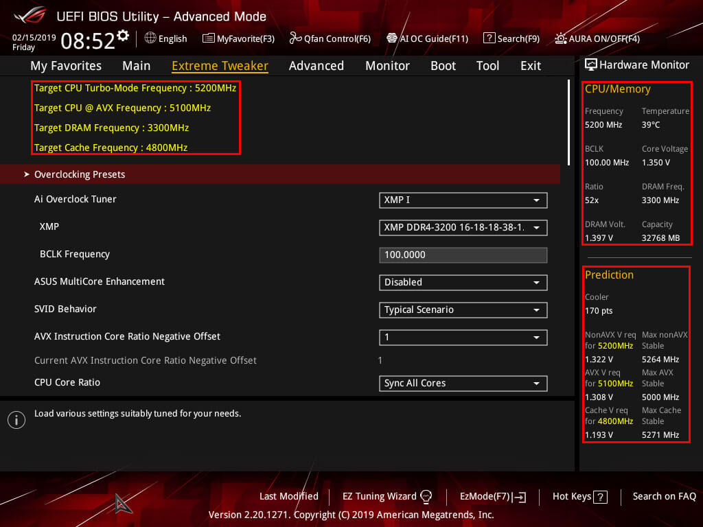 ASUS Maximus Hero XI UEFI BIOS Prediction